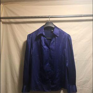 Rich Blue Blouse